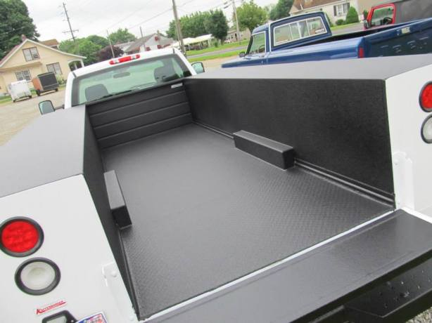 Own a work Truck!  Rhino Linings Hardline does a great job of protecting your truck from corrosion and abrasion!