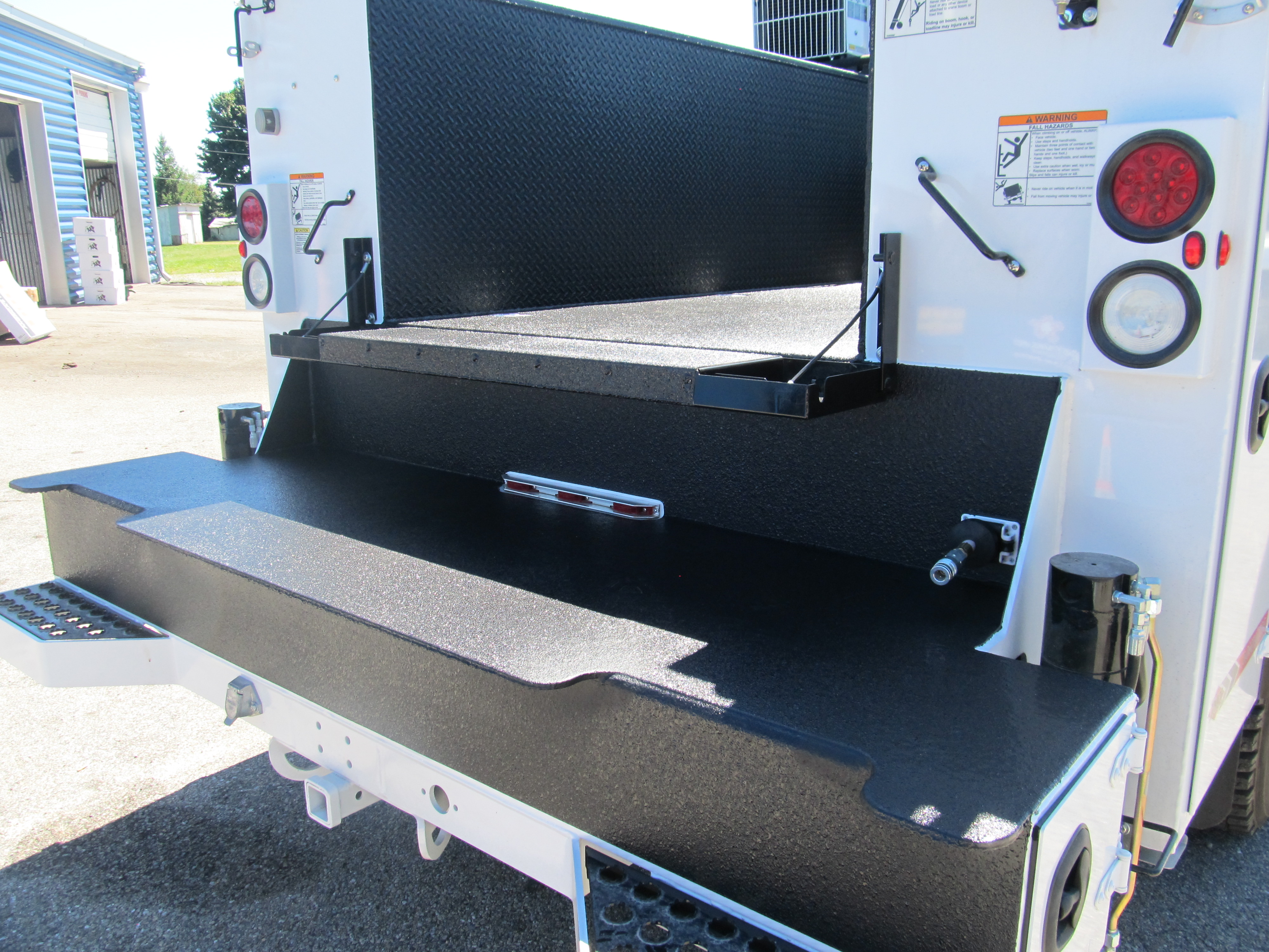 Utility Truck Bumpers : Rear bumper rhino linings of york