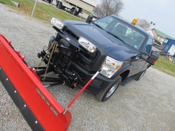 Ford Plow Protected with Rhin Linings
