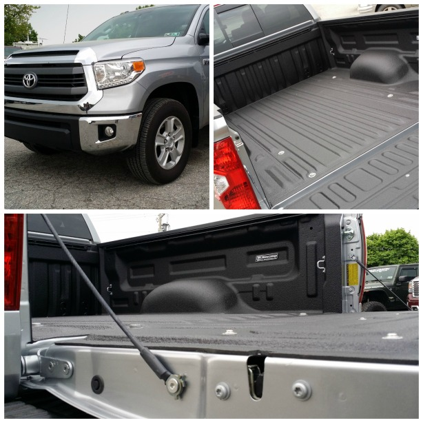 Rhino Linings Hybrid Application 2014 Toyota Tundra