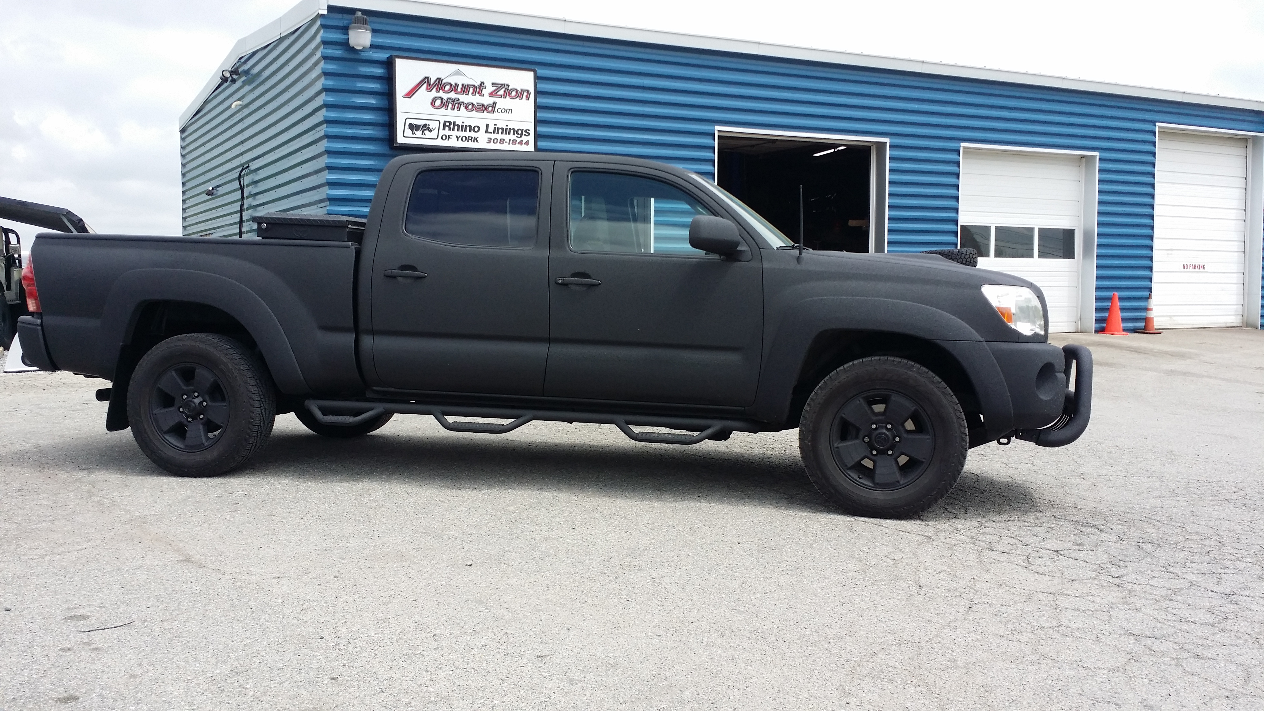 Rhino Lined Truck >> 2008 Toyota Tacoma Completely protected with Rhino Linings! | Rhino Linings of York