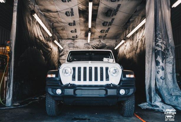 Jeep JL Rhino Lining